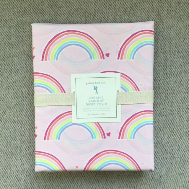 Pottery Barn Kids Wilmington Nc: Pottery Barn Kids Organic Rainbow Duvet Cover Only Twin