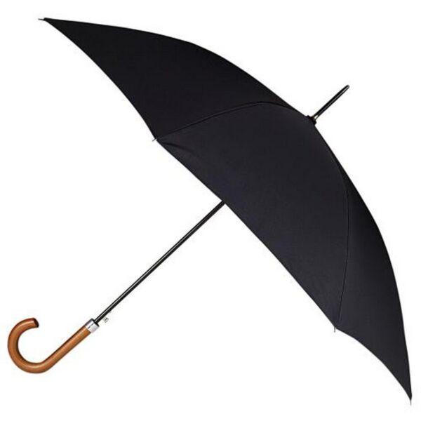 100% Verdadero Totes Mens Double Canopy Long Umbrella With Football Print Underside