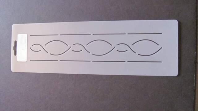 Stencil Quilting Border 2 5cm Quilt Qc 158 Template Stitch Sew