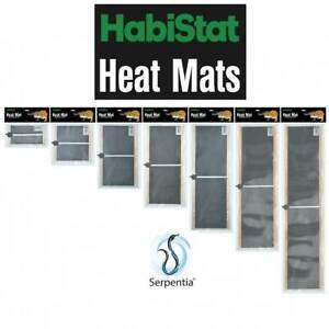 HabiStat Heat Mat, Ultra-long wavelength infra red heat mats for reptiles 7w-60w