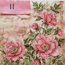 for Party 4x Paper Napkins Decoupage Craft Kate Light Cream