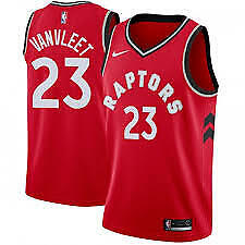 Toronto-Raptors-Jersey-23-VANNLEET-Color-RED-Size-XL