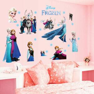 Disney-Frozen-Wall-Sticker-Elsa-Anna-Kids-Room-Nursey-EXTRA-Large-Home-Decor-DIY