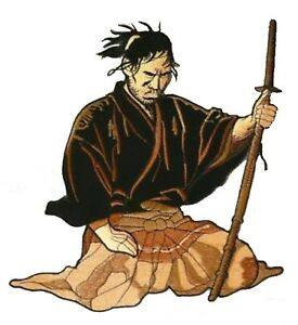 Dossard-ecusson-patche-dorsal-Samourai-Ninja-Japon-patch-grand-thermocollant