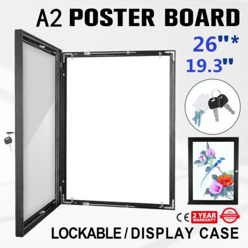 Plakat Schaukasten abschließbar und wasserfest für aussen Werbung Bilder