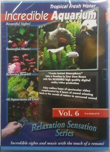 Incredible Aquarium DVD Relaxation Sensation Series Vol.6