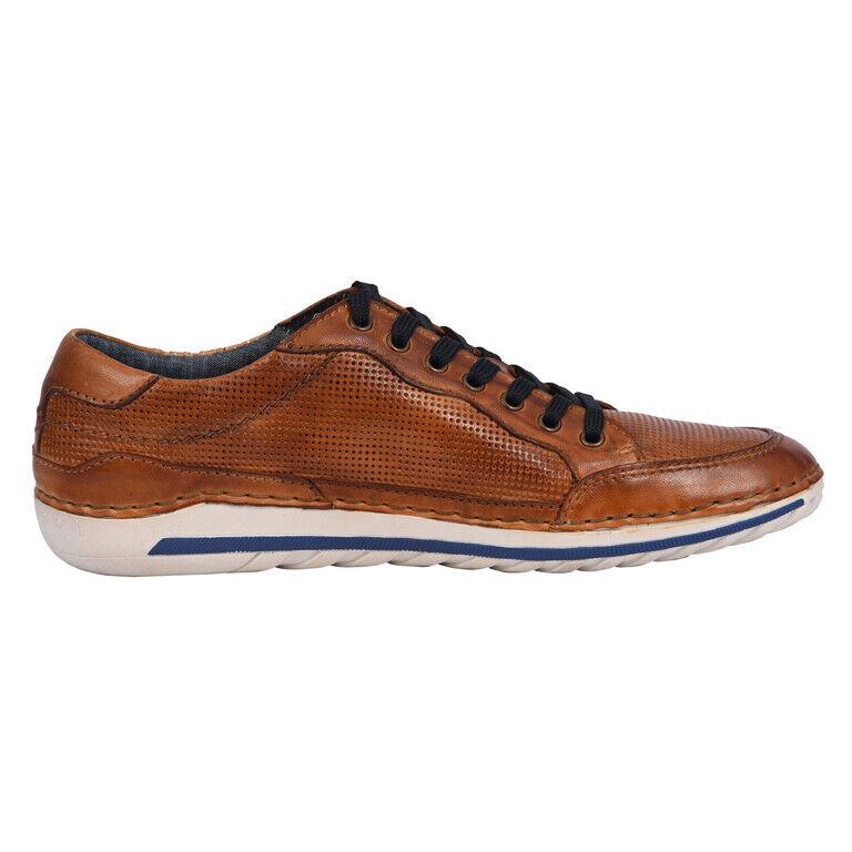 Bugatti 321-71201-4100 CAMBERRA-chaussures hommes chaussures De Loisirs - 6300-Cognac