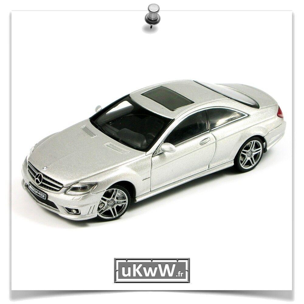AutoArt 1 43 - Mercedes CL 63 AMG AMG 63 2007 argento 72f089