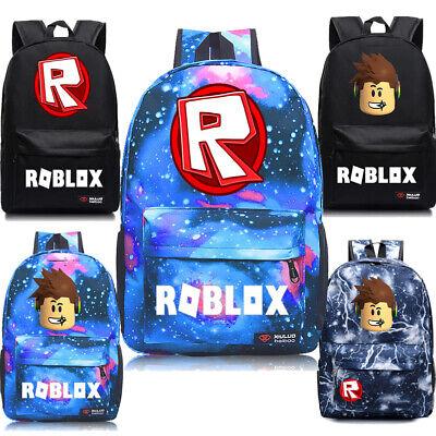 Roblox Rucksack Kinder Schultasche Studenten Bookbag Handtaschen Reisetaschen