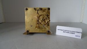 ANTIQUE-GERMAN-REGULATOR-CLOCKWORK-MARKED-WITH-STAR-AND-A-S-amp