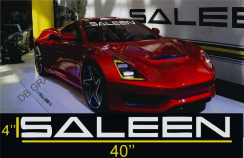 Windshield Banner Vinyl Decal Sticker for Saleen Mustang Challenger Camaro GTX
