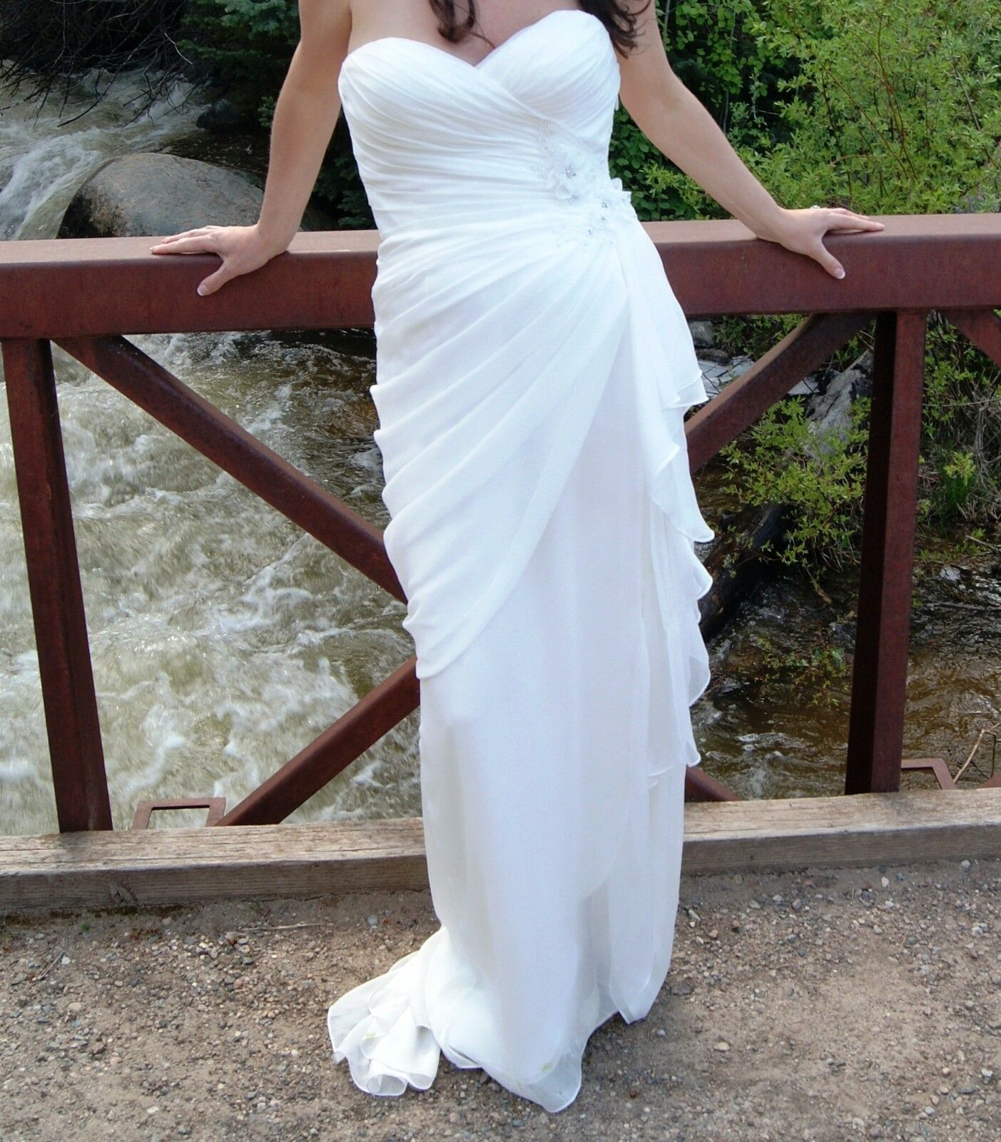 ,775 Sexy Designer Wtoo Brides by Watters & Watters WEDDING DRESS Size 10 !