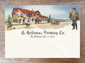 Historic G. Heileman Brewing Co. Wisconsin Postcard 1