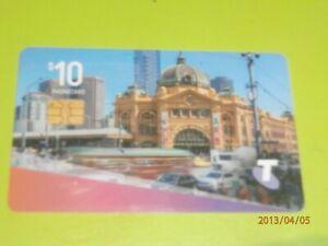 10-FLINDERS-STREET-STATION-PHONECARD-RECENT-TELSTRA-EXP-01-07-2022-FREE-POST