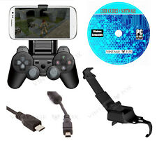 PS3 Smart Game Clip, Mobile Phone Holder Mount PlayStation 3 Controller GameKlip