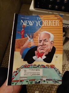 The-New-Yorker-Sept-8th-2008-Magazine-John-McCain-Very-Clean