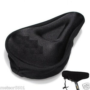 Soft Saddle Pad Cushion Cover foam Silicone Seat for Mountain Bike Bicycle New