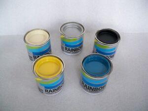 5-BARATTOLI-90-ML-SMALTO-PER-MODELLISMO-RAINBOW-MAIMERI-HOBBY-ENAMEL