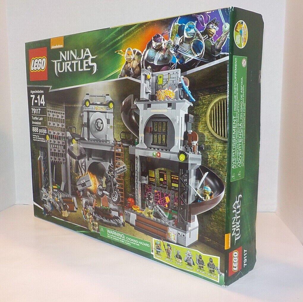 Lego TMNT Teenage Mutant Ninja Turtles Lair Invasion  79117 NEUF  boîte scellée