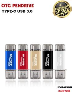 Cle usb lecteur flash otg 3.0 type-c flash/pen drive real 32GO