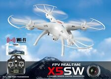 Drone SYMA X5SW FPV HEADLESS CAMERA HD real time WiFi PER IPHONE E ANDROID 24h