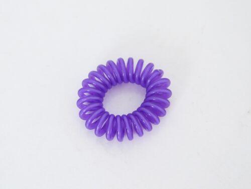 Chouchou Ressort x1 Mini Bracelet Elastique Fil Téléphone Accessoire Cheveux