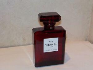 3f18cec4bc2 Chanel No 5 RED PERFUME Eau de Parfum 3.4oz Spray Limited Edition