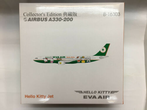Hogan Wings 3350 EVA AIR B-16303 Hello Kitty Jet AirBus A330-200 1:200