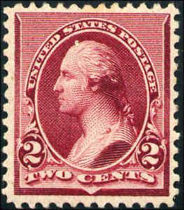 1890-US-219D-A61-2c-Original-Gum-Stamp-Catalogue-Value-160