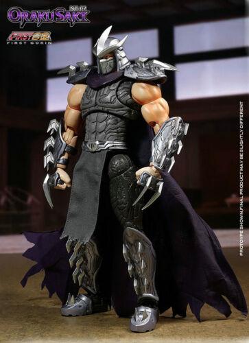 First Metal Alloy Gokin OrakuSaki Shredder Action Figure NT-02 Movable Model New