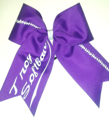 Softball Hair Bow...Nice Can personalize