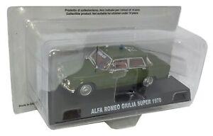 Carabinieri-Alfa-Romeo-Giulia-Super-1970-Verde-1-43-Diecast