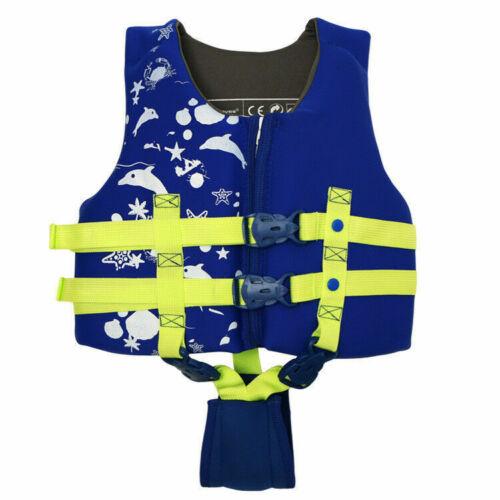 KID CHILD KAYAK SKI BUOYANCY AID SAILING WATERSPORT LIFE JACKET SWIMMING VEST UK