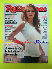 ROLLING STONE USA MAGAZINE 1154/2012 Jennifer Lawrence James Mercer Iovine No cd