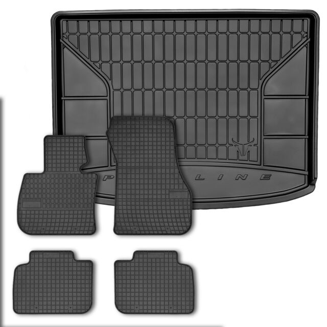 Tappetini IN GOMMA TAPPETINI in GOMMA 4 pezzi per BMW 2er Active Tourer f45 dal anno 2014