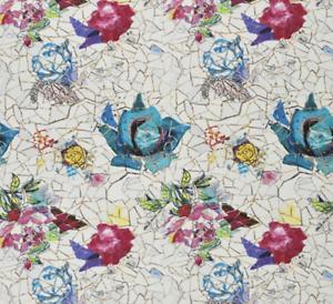 Designers Guild Fabric De Christian Lacroix Eclats De Fabric Rosas Nácar Tela-FCL2488/ fbedf2