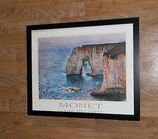 La Manne Porte Etretat - Claude Monet poster - frame 20''x16'', monet wall art