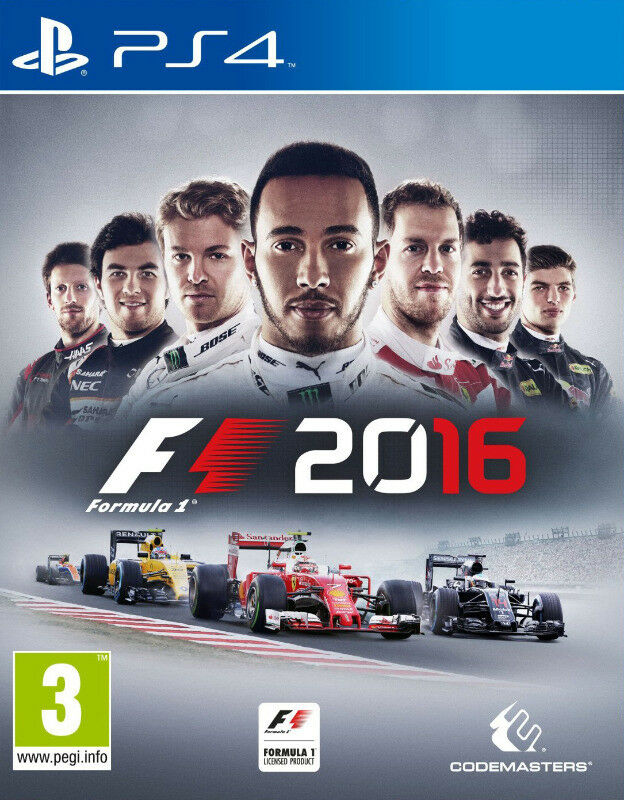 PS4 F1 2016 (brand new)