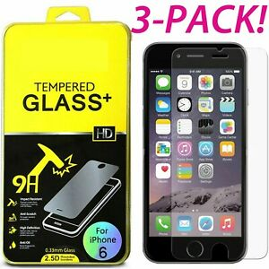 Premium-Real-Tempered-Glass-Screen-Protector-Film-For-iPhone-6-6s-amp-X-7-8-8-Plus