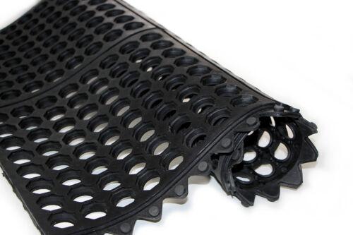Ultra 100x100Zerbino professionale componibile 100/% gomma spessore 12 mm