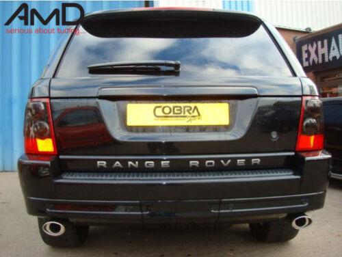 Cobra sport range rover sport oval Tuyau d/'échappement upgrade 2005-2009