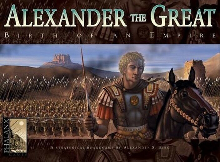 Alexander the Great - Phalanx Games - English Edition, New