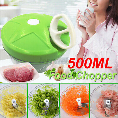 "Manual Pull Rope Food Vegetable Onion Blender Chopper Pulling Slicer   /""CN"