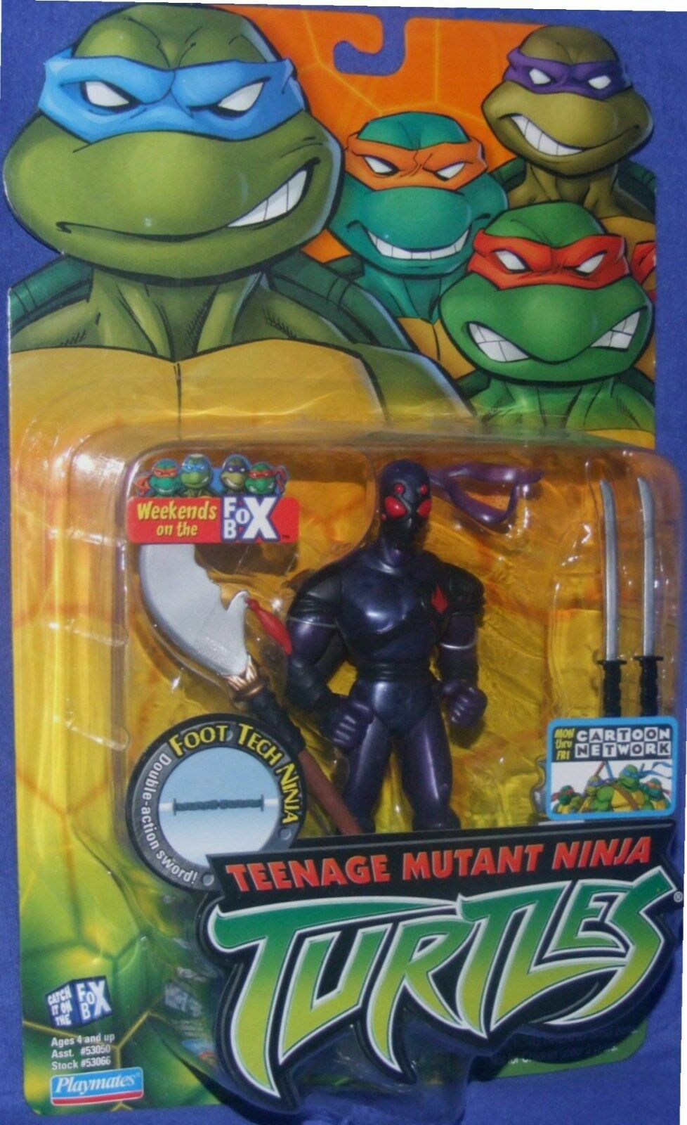 Teenage mutant ninja turtles  fuß - 5 neue fabrik versiegelt playmate - 2003
