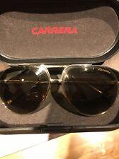 Men's Carrera Aviator sunglasses  light gold mirrored lenses