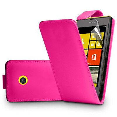 Cases, Covers & Skins Finta Pelle Custodia Protettiva Cellulare Con Patta Per Nokia Lumia 520/525/521 Reliable Performance