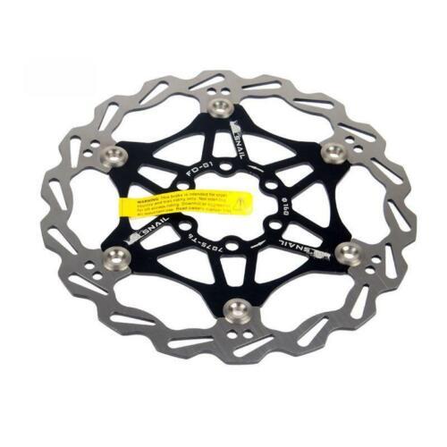 Snail MTB Mountain bike Cycling Brake Disc Floating Rotor 160//180//203mm Rotors