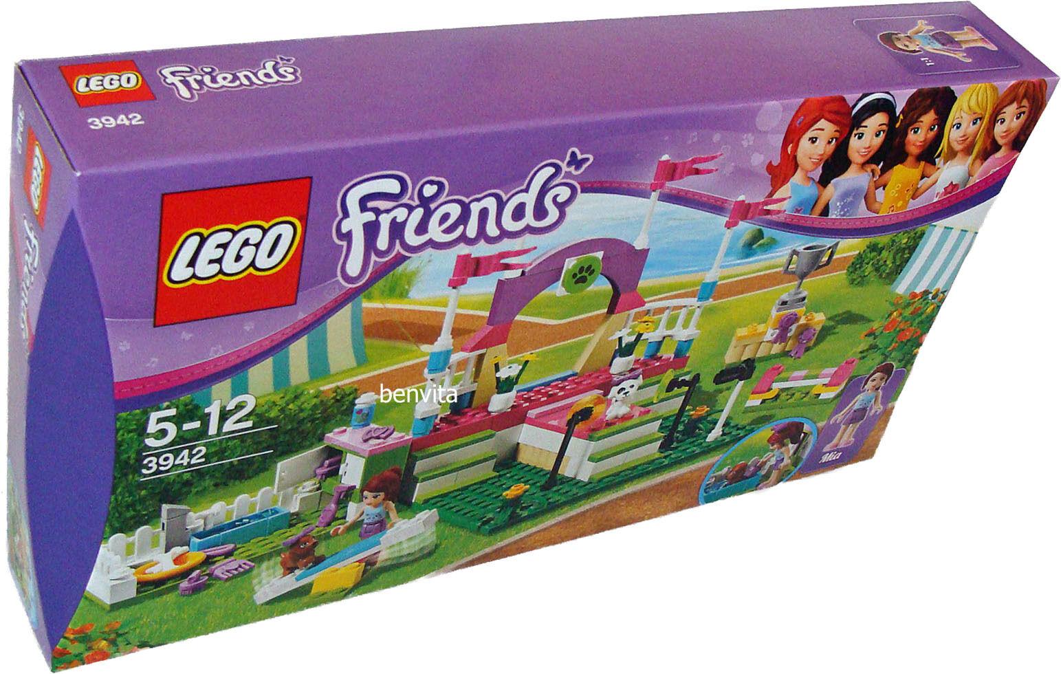 Lego® Friends 3942 - Die große Hundeschau 183 Teile 5-12 Jahren - Neu