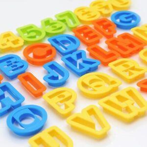 New-Set-NEW-BIG-Alphabet-Number-Letter-Font-Plastic-Cookie-Cutter-Fondant-Tool