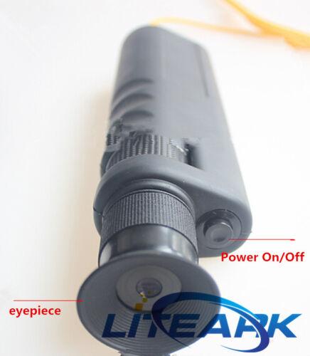 Optical Fiber Optic Inspection Scope 400x Fiber microscope 1.25//2.50mm